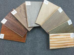 Cool Tone Oak Wood 3-Layer Lamina Flooring Tile pictures & photos