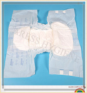 Breathable Adult Disposable Diaper for Incontinence pictures & photos