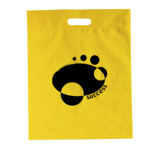 Plastic Bags Colorful Low Density Shopping Merchandise Die Cut Handle pictures & photos