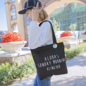 Hot Sell Customized Handle Style Tote Cotton Canvas Bag pictures & photos