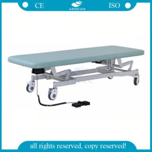 AG-Ecc03 with Foot Pedal Hospital Medical Electric Examination Table pictures & photos