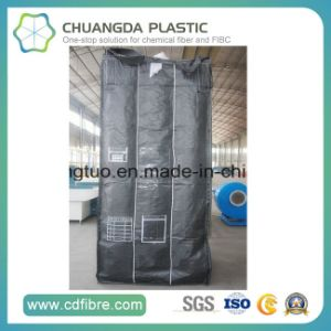 Black FIBC Ton Jumbo Container Big Bag with Baffle Inside pictures & photos