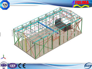 China Steel Structure Prefabricated Building for Warehouse pictures & photos