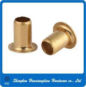 Factory Price 2mm 2.5mm 3mm 5mm Brass Hollow Tubular Rivet pictures & photos