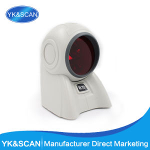 High Quality Omnidirectional 1d Laser Barcode Scanner USB2.0 USB Virtual PS/2 RJ45 Interface POS System pictures & photos