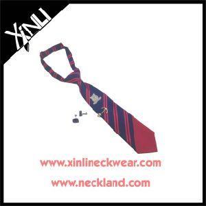 100% Silk Woven Neckties for Boys pictures & photos