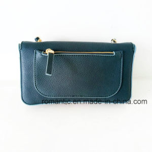 China Supplier Fashion Lady Flower Decoration PU Handbags (NMDK-061602) pictures & photos