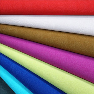 Fashion Matte Frosted Style PU Synthetic Accessories Leather pictures & photos
