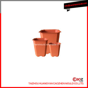 Square/Plastic Garden Flower Pot Mould in Huangyan pictures & photos