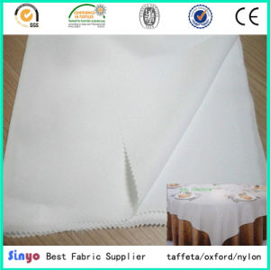 100% Polyester Pd 300d Plain Dyed Mini Matt Fabric for Table Covers pictures & photos