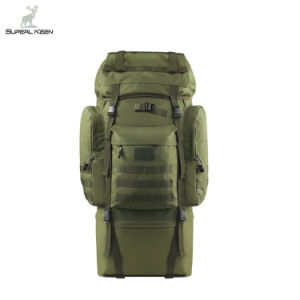 100L Hiking Camping 900d Mountaineering Pack Internal Frame Tactical Backpack pictures & photos