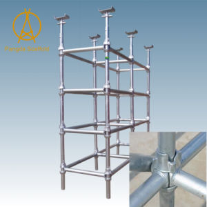 Safety Modular Design Cup Lock Scaffolding pictures & photos