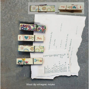 Top Selling Shabby Chic Eco-Friendly Memo Clip for Wall Decoration pictures & photos