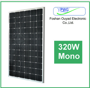 Solar Panel with Aluminum Alloy Frame Mono Solar Panel 320W pictures & photos