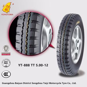 High Strength and High Quality Motorcycle Tyre 500-12 pictures & photos