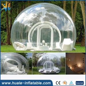 Popular PVC Clear Outdoor Inflatable Bubble Camping Tent
