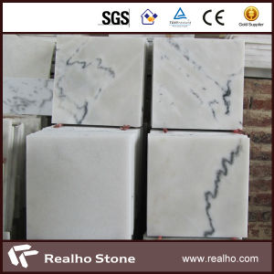 Cheap China Carrara Guanxi White Marble Tiles for Wall/Floor