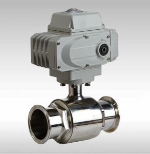 Stainless Steel 316 Electric Sanitary Ball Valve Kt pictures & photos