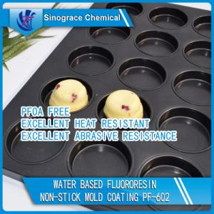 White Two-Layer Fluororesin Non Stick Coating (PF-601) pictures & photos