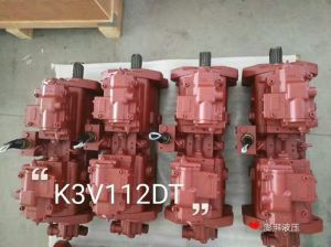 Replacement Hydraulic Piston Pump Kawasaki, K3V 63, K3V112, K3V180 pictures & photos