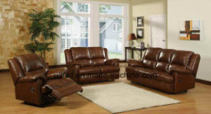 Modern Wooden Corner Leather Sofa (UL-NS553) pictures & photos