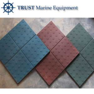 Flame Resistant, Anti-Corrosion, Shock Absorbing Non Slip Rubber Floor Tiles pictures & photos