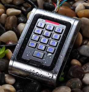 Waterproof Metal Case Keypad Standalone Access Controller 125kHz or 13.56MHz Frequency pictures & photos