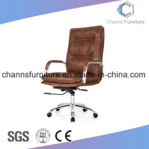Foshan High Grade Stylish Leather Manager Leather Chair Office Furniture pictures & photos