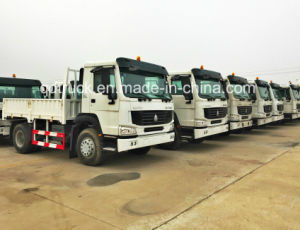 Sinotruk HOWO 6X4 Sidewall Fence Dropside 10 Wheeler Cargo Truck pictures & photos