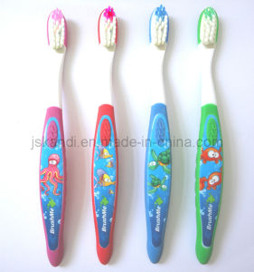 Baby/Kids Toothbrush as Sucker with QQ Design pictures & photos