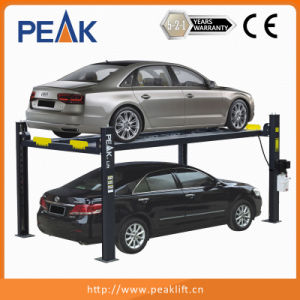 High Quality Standard Manual Release Four Columns Parking Hoist (408-P) pictures & photos