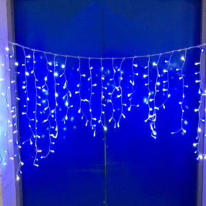 LED Icicle Holiday Light (216 LEDs) for Christmas Wedding Decoration pictures & photos
