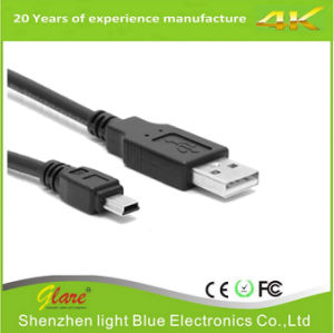 Black PVC Digital Camera USB Cable pictures & photos