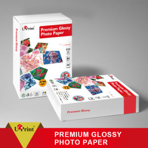 Factory Supply Digital Printing Eco Solvent Inkjet Glossy Photo Paper pictures & photos