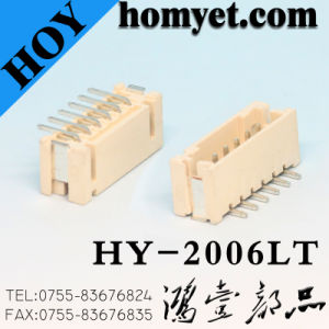 2.0mm Pitch SMT Wtb Wire-to-Board Connector with Locking (HY-2009WTK) pictures & photos