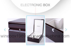 High-End MDF Varnish Electronic Packaging Luxury Gift Box pictures & photos