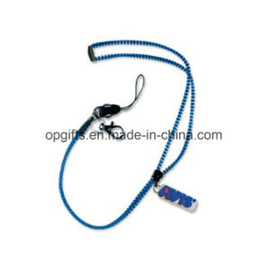 Professional Manufacturer of Zipper Lanyard pictures & photos