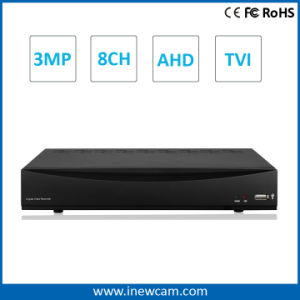 8CH 3MP Center Monitoring Alarm Software Tvi/Ahd P2p DVR pictures & photos