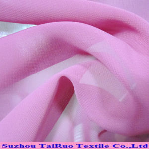 Best Selling China Supplier Heavy 100% Polyester Twill Chiffon pictures & photos