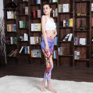 Mix Color Printed Gym Legging Yoga Long Pants for Women Sportswear pictures & photos