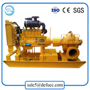 Single Stage Double Suction Diesel Centrifugal Drainage Pump pictures & photos