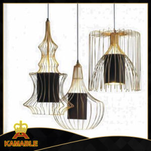 Modern Metal Decorative Golden Pendant Lamps (KAP6024) pictures & photos