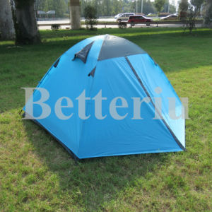 Double Layer Dome Trail Tent for 2 Person pictures & photos