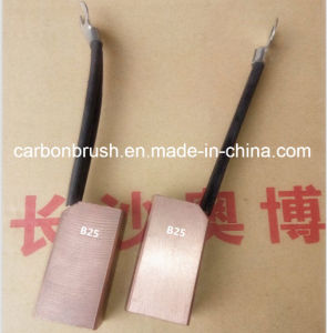 looking for metal Graphite Carbon Brushes for industry motor B25 pictures & photos