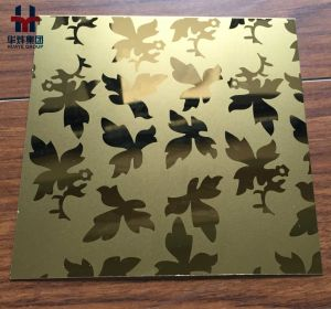 High Quality PVD Plating Stainless Steel Color Decorative Sheet pictures & photos