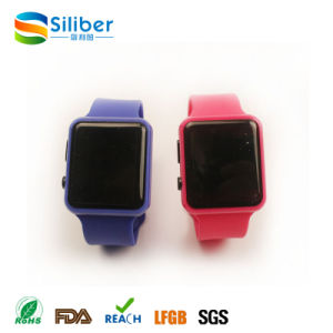 Digital Jelly Watch Silicone Bracelet LED Sports Wrist Watch pictures & photos
