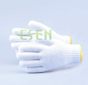 Work Cotton Gloves Gloves for Indusrial Knitted Cotton Gloves for Industrial pictures & photos