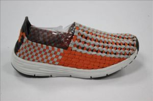 2016 New Lady Woven Casual Shoe pictures & photos