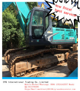 Used Crawler Excavator Kobelco Sk350LC-8 in Stock pictures & photos