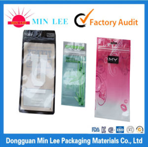 Food Packaging Custom Made Plastic Bags with Windows Dongguan Factory pictures & photos